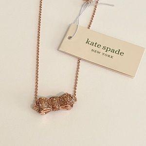 COPY - ⭐️Kate Spade bow necklace